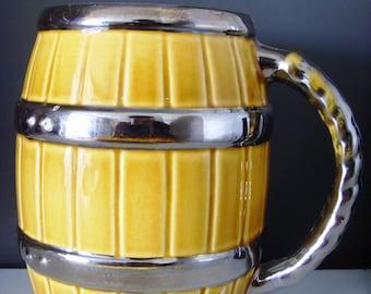 Vintage Wade Barrel Tankard