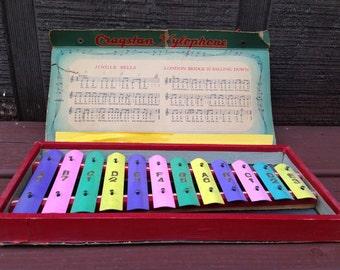 Vintage Cragstan Xylophone