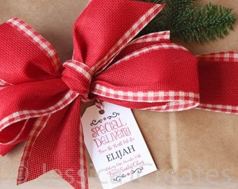 Christmas Gift Tags - Gift Tags - Personalized Gift Tags - Wrapping Tags - Christmas Gift Wrap - Gift Wrap