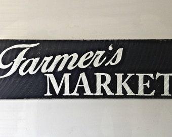 Rustic Farmer's Market Sign