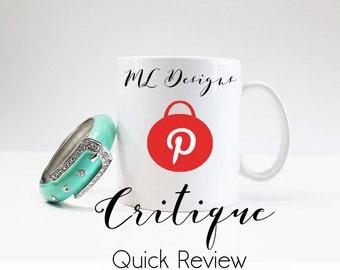 Pinterest  Critique  Quick Review