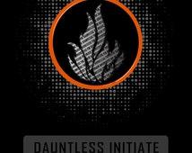 Divergent Dauntless Initiate T Shirt