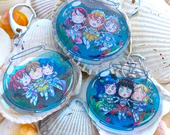Love live Sunshine aquarium charms