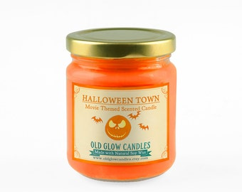 Halloween Town Scented Soy Candle - Nightmare Before Christmas Inspired Candle