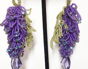 Wisteria Earrings Kits in 4 Colors