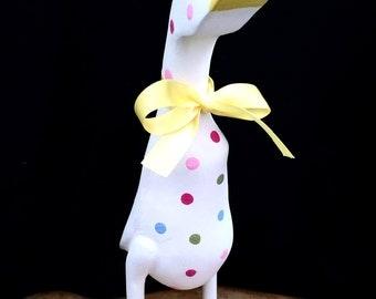 Wooden Nursery Spotty Duck