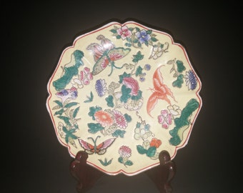 Antique Chinese Decorative Plate