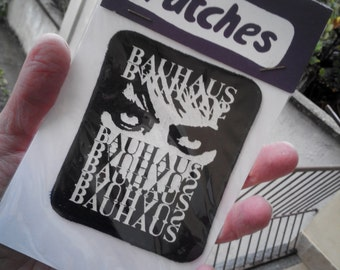 Bauhaus patch new vintage. still packed !! 80s