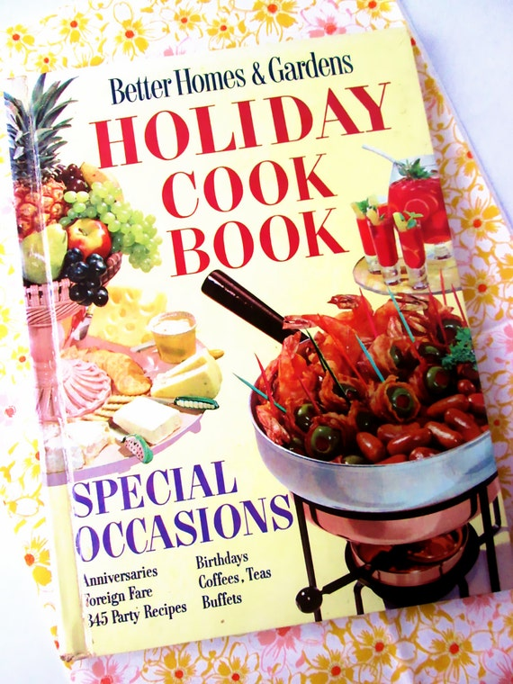 Better Homes And Gardens Holiday Cook Book 1950 39 S