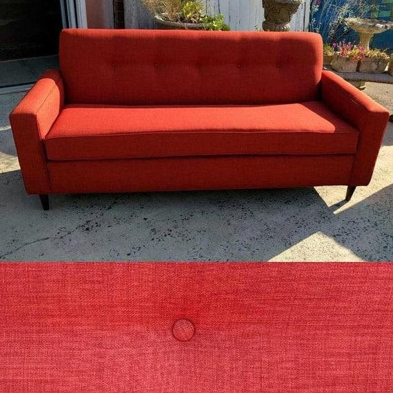 Orange Mid Century Sofa: 82 Burnt Orange Mid-Century Modern Sofa Design 59 Inc