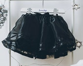 Fairy Dress  Fairy Costume  Princess Dress  Party Dress  Girls Skirt  Tutu Skirt  Plain Black