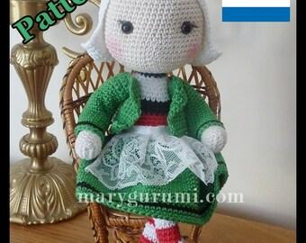 Crochet pattern Amigurumi doll snipe tutorial Pattern