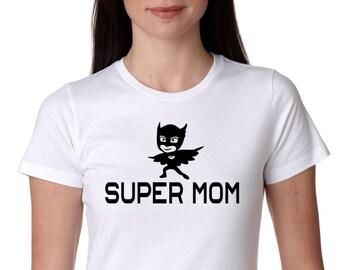 pj masks, Super Mom, masks shirt, pj mask, pj masks birthday shirt, PJ Mask, Tee Shirt, funny shirt.Mom Shirt, Birthday Shirt. Paw Patrol