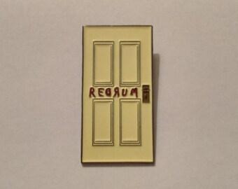 The REDRUM Door Lapel Pin