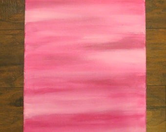Abstract Lines, Magenta and White