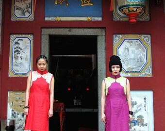 Yun Qipao Red