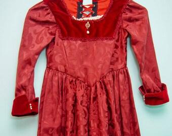Renaissance style gown