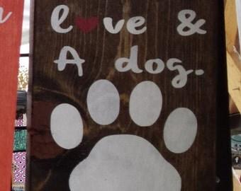 Handmade Dog Leash Holder
