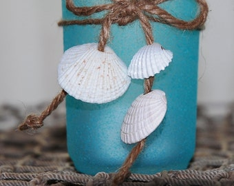 Small Seashell Candle Votive Holders