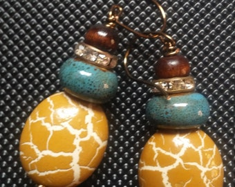 Aquarian Safari Earrings