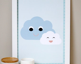 Poster Happy Clouds