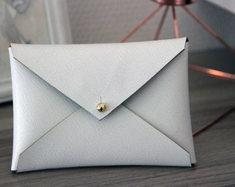 synthetic leather envelope wallet