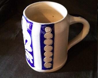 Vintage Handarbeit Stoneware Tankard