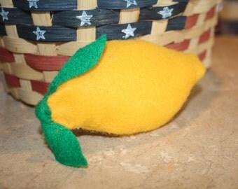 Felt Lemon Toy