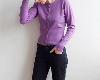 Vintage Purple Jumper