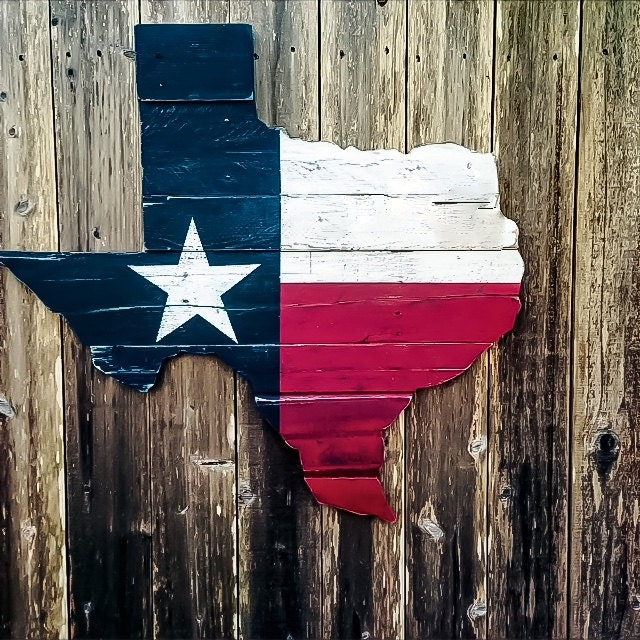 Texas Flag Wall Art Reclaimed Wood Texas Wooden Texas Flag Rustic Wooden Signs