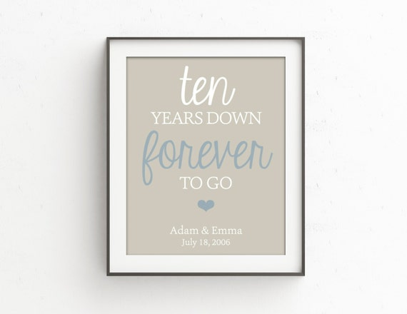 10th Wedding Anniversary Gifts For Husband Uk : Anniversary, Anniversary Gift, 10th Anniversary, wedding anniversary ...