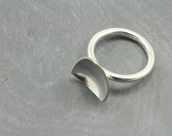 Reflections Triangle Ring