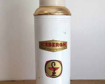 "French Vintage ""ICEBERGH"" Thermos Flask"