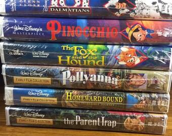 Disney Family VHS/ 6pc