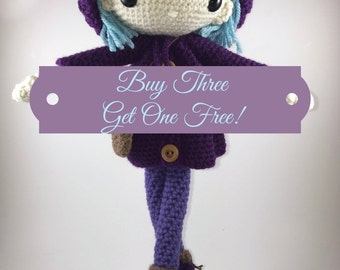 Amigurumi Bundle - Buy Three Get One Free!