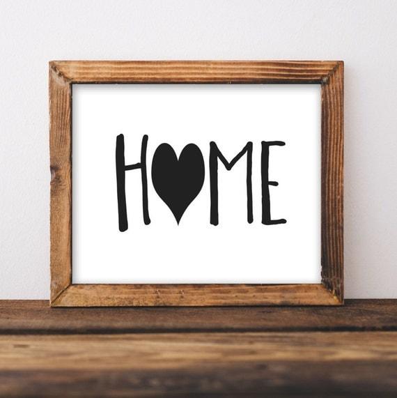 Printable Wall Art 8x10 Home Print House Decor Home Decor