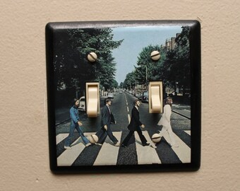 Beatles Switchplate cover- Abbey Road