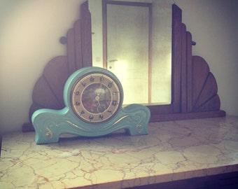 Blue clock | KLOK. Clock