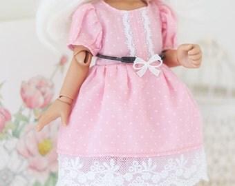 Pink dot dress set for yo-sd soom teenie gem