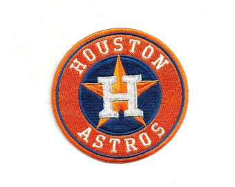 "Houston Astros * 3.5"" inch * Embroidered * Iron / Sew on * Applique / Patch * FREE SHIPPING *"