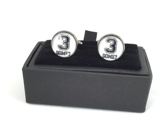 3 Some? Cuff Links