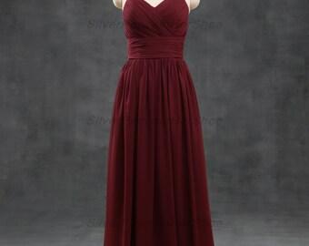 Adele - elegant low back gown