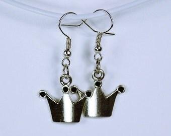 Earrings Crown - Crown - Princess earrings