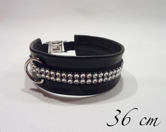 Dog collar with Strass