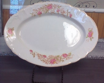 Excelsior Porcelain, China Plater, 40's Plater, Display