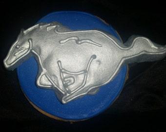 Ford Mustang Cookies!