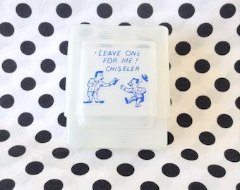 C.1970's~Chiseler Cigarette Case~Unbreakable Plastic~Made in Hong Kong