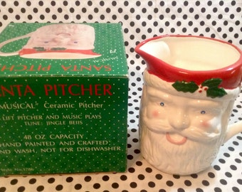 C.1991~Musical Santa Pitcher~Jingle Bells