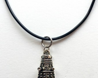 Dr Who Inspired Dalek Charm Necklace