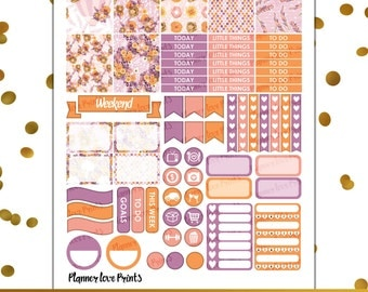 FLOAT AWAY PRNTABLE Planner Stickers | Instant Download | Pdf and Jpg Format
